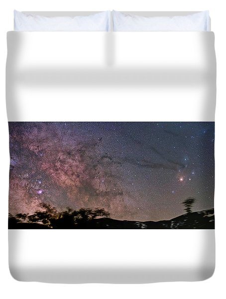 The Milky Way Core Duvet Cover