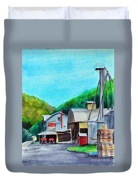 The Mill At Shade Gap II Duvet Cover
