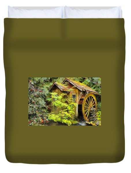 The Mill Duvet Cover