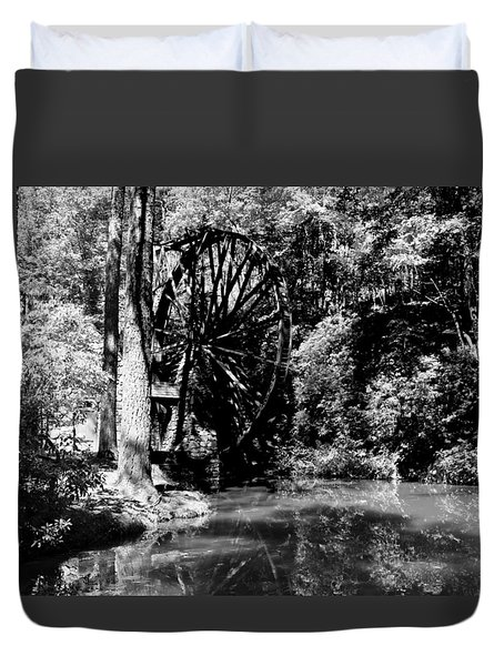 The Mill Wheel Duvet Cover