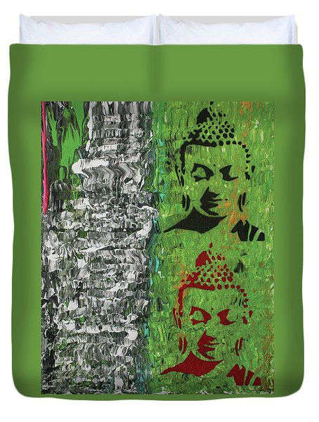 The Mind Is Everything Duvet Cover