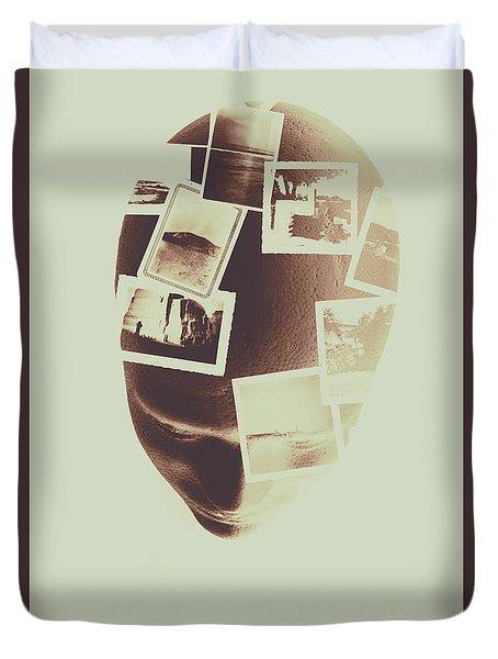 The Mind Manifesto Duvet Cover