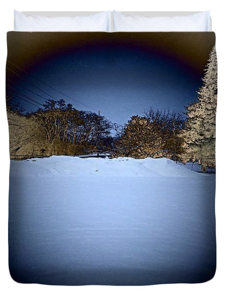 The Mind's Eye Duvet Cover