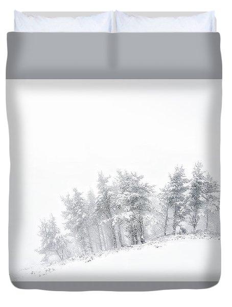 The Minimal Forest Duvet Cover