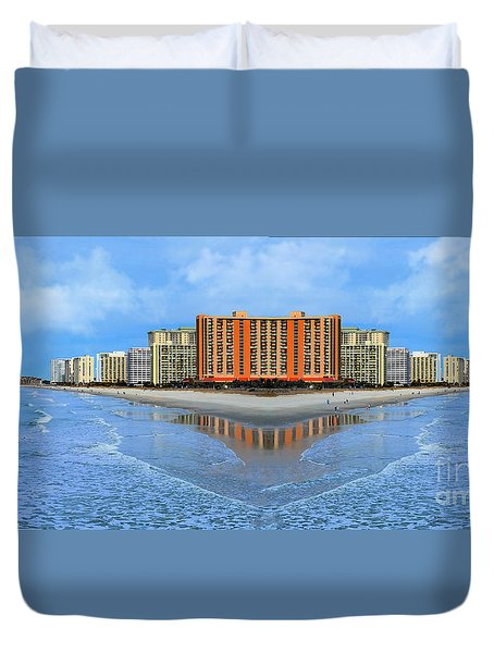 The Mirrors Of Your Mind Duvet Cover