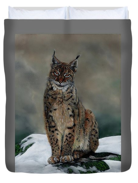 The Missing Lynx Duvet Cover
