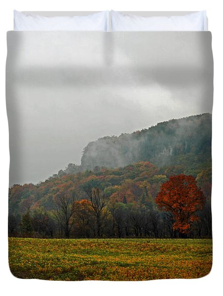 The Mist Duvet Cover by John Stuart Webbstock