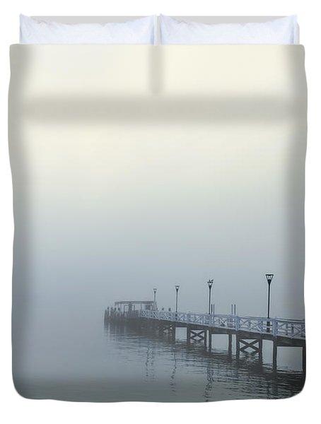 The Mist That Hides Your Trace Duvet Cover