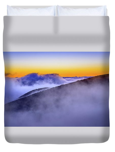 The Mists Of Cloudfall Duvet Cover