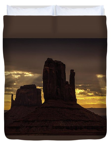 The Mittens Sunrise Duvet Cover