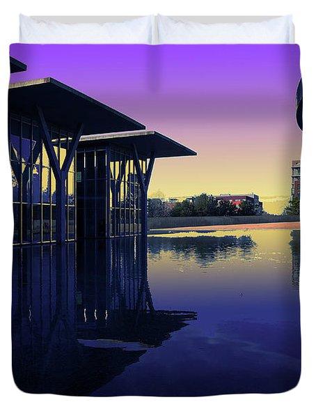 The Modern, Fort Worth, Tx Duvet Cover