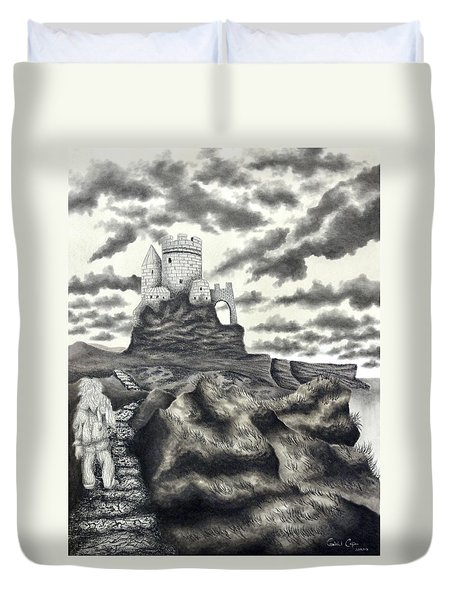 The Moher Giant Duvet Cover