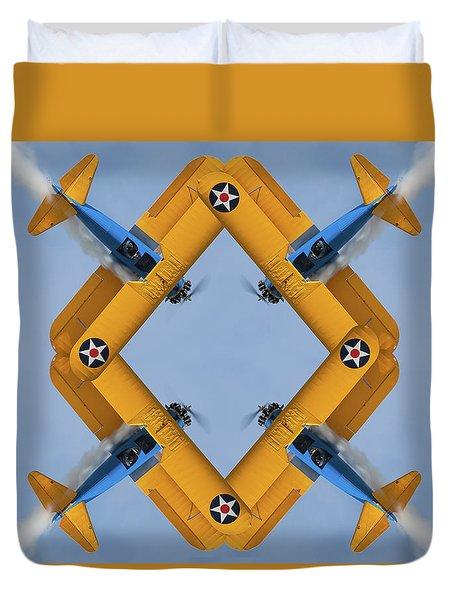 The Mohrbeous Strip Duvet Cover