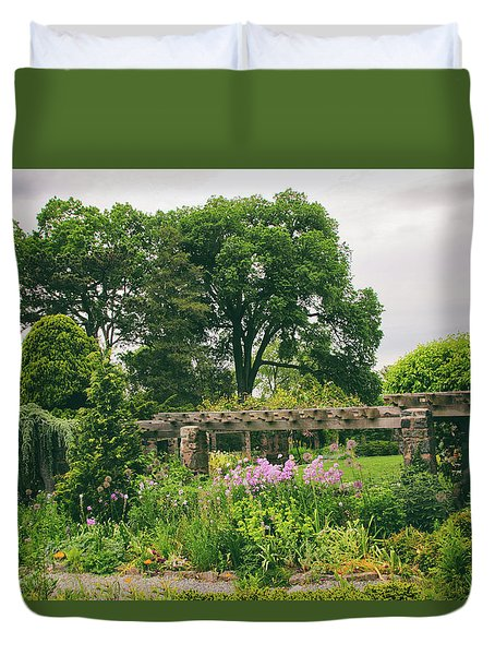 The Monocot Garden Duvet Cover by Jessica Jenney
