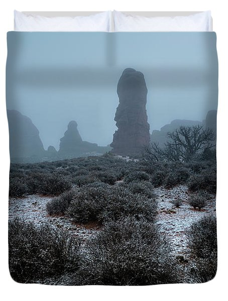 The Monolith Duvet Cover
