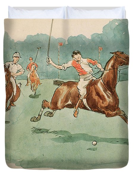 The Month Of June  Polo Duvet Cover