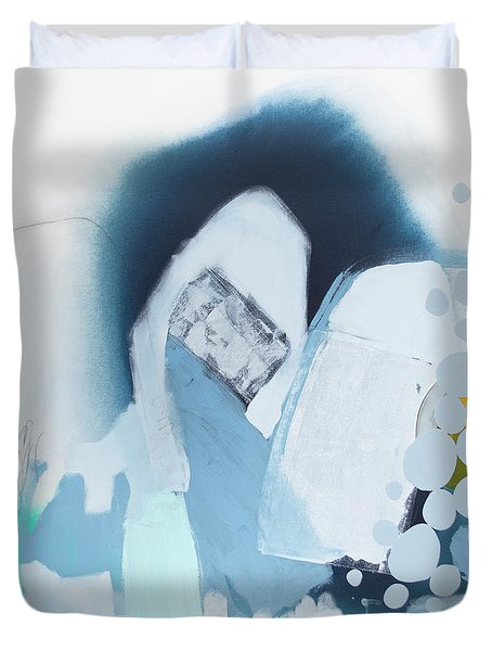 The Moon Is A Window Duvet Cover
