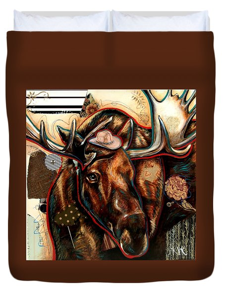 The Moose Duvet Cover