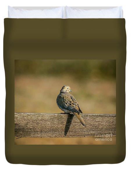 The Morning Dove Duvet Cover