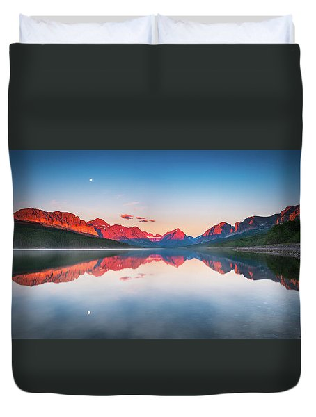 The Morning Tranquility Duvet Cover