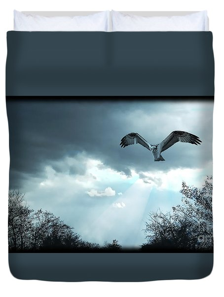 The Hawk Duvet Cover