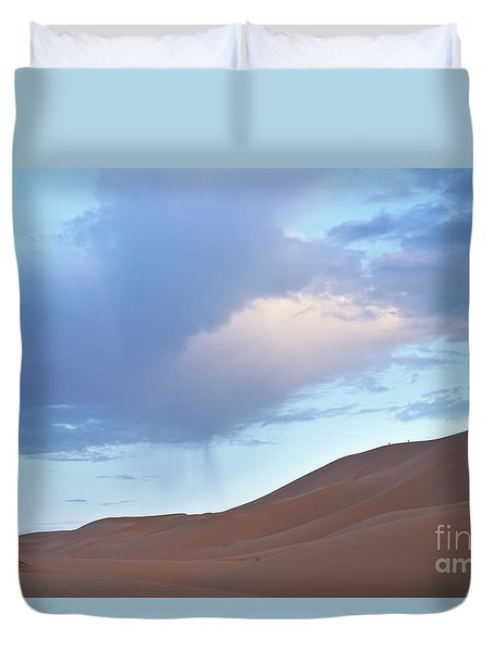The Moroccan Dunes Duvet Cover by Yuri Santin