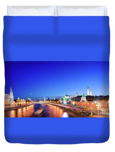 Moskva River Duvet Cover