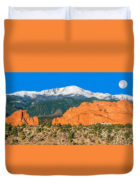 The Most Popular City Park In The U.s. Duvet Cover