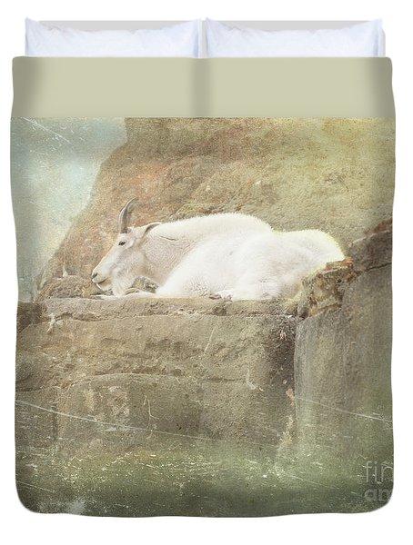 The Mountain Goat Duvet Cover