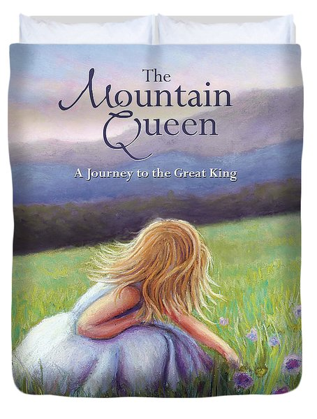 The Mountain Queen Book Cover Duvet Cover