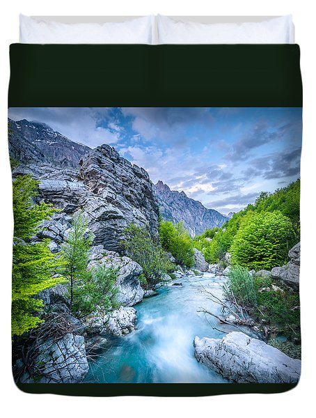 The Mountain Spring Duvet Cover