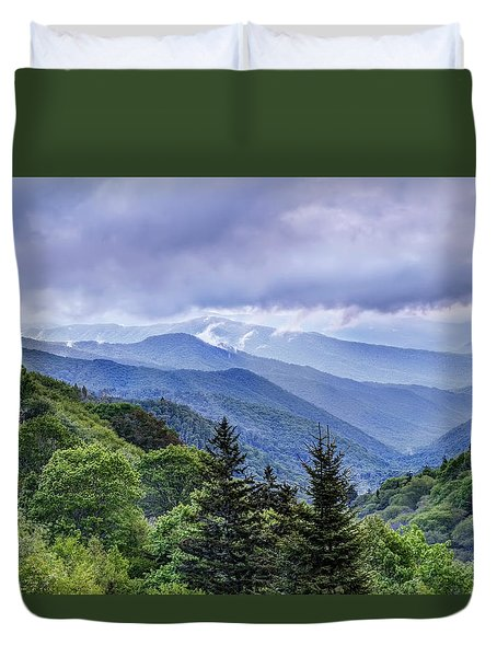 The Mountains Of Great Smoky Mountains National Park Duvet Cover