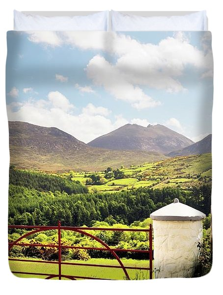 The Mourne Mountains, Northern Ireland Duvet Cover