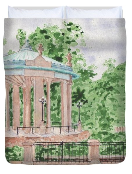The Muny At Forest Park Duvet Cover