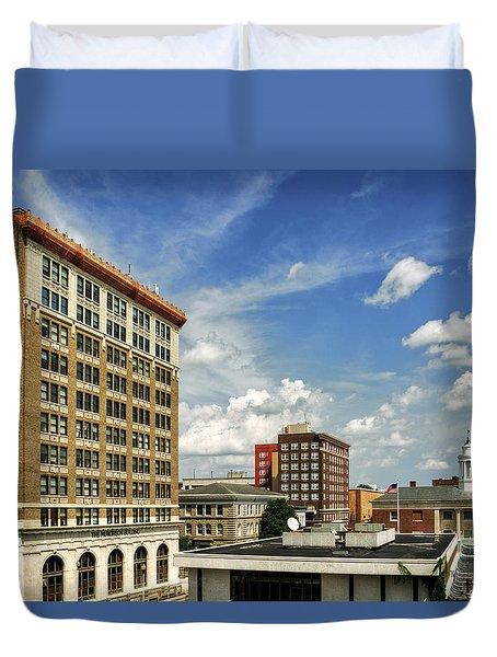 The Murchison Building Duvet Cover by Greg Mimbs