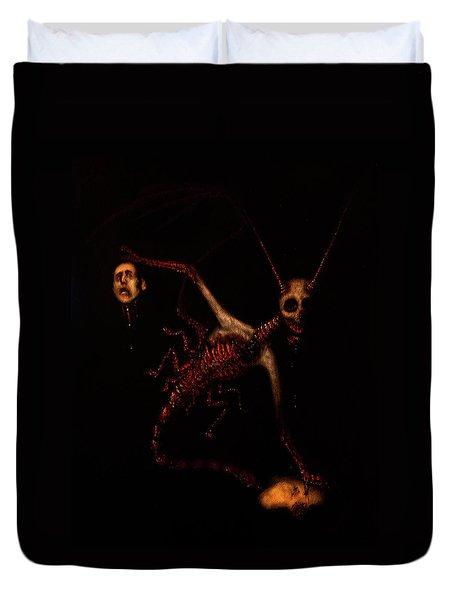 The Murder Bug - Artwork Duvet Cover