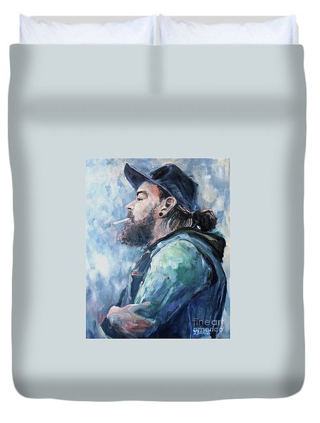 The Music Man Duvet Cover