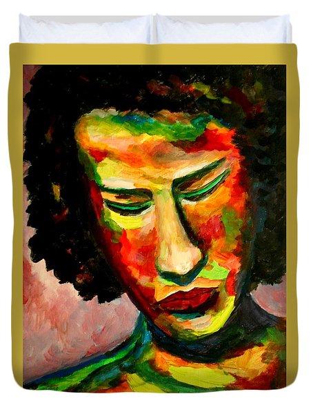 The Musician's Feelings Duvet Cover