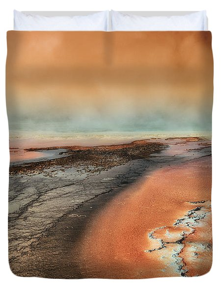 The Mysterious Force Duvet Cover