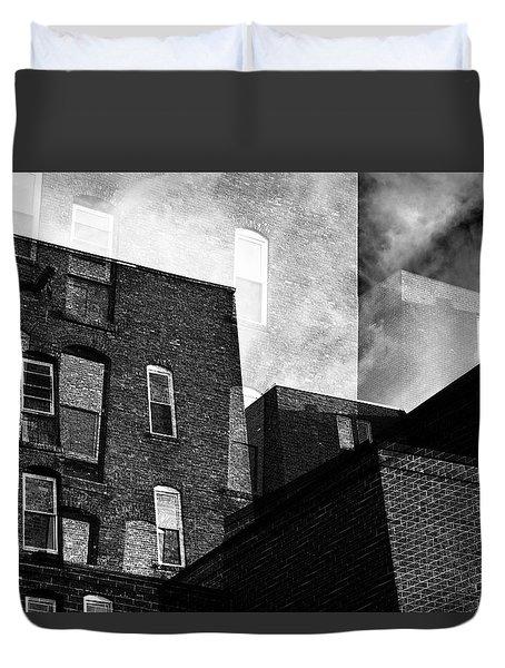 The Naked City Duvet Cover