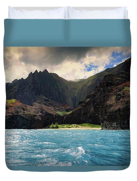 The Napali Coast Duvet Cover
