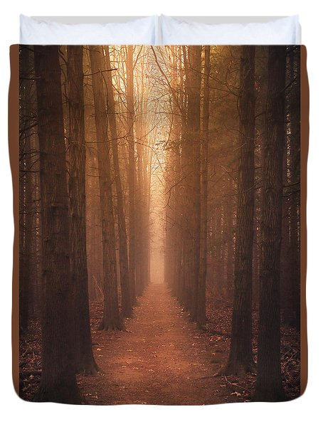 The Narrow Path Duvet Cover