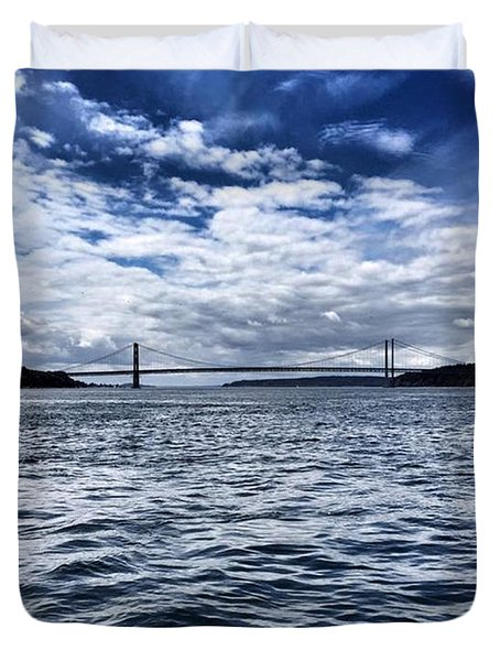 The Narrows Bridge  1 Duvet Cover
