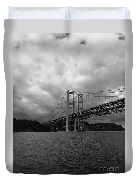 The Narrows Bridge Duvet Cover