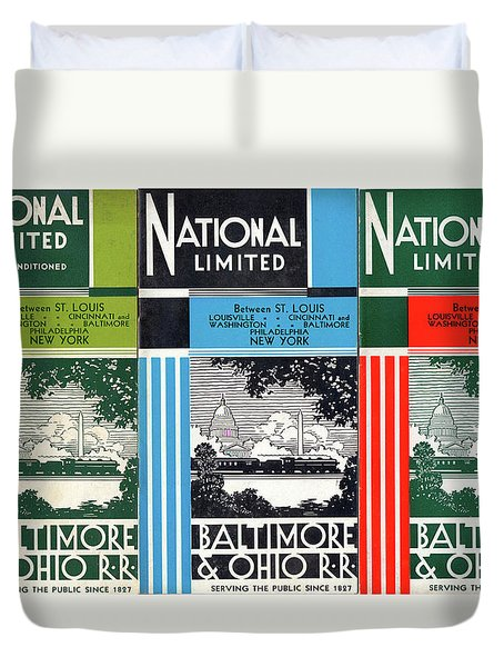 The National Limited Collage Duvet Cover