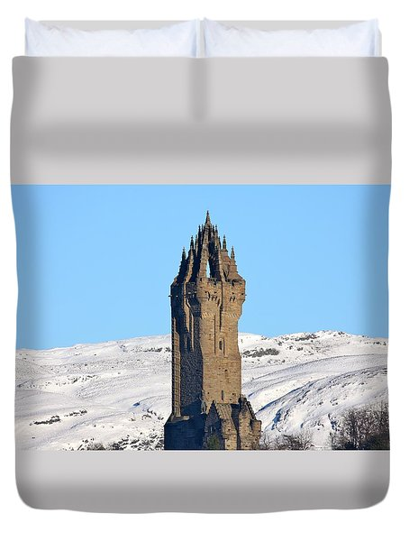 The National Wallace Monument Duvet Cover