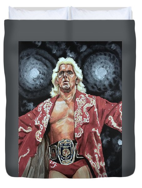 The Nature Boy Ric Flair Duvet Cover