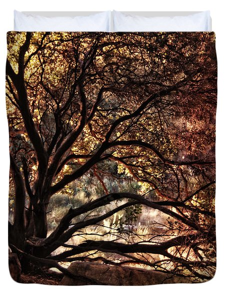 The Nature Of Trees Duvet Cover