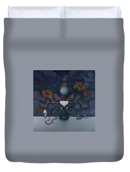 The Nectar Of Always Duvet Cover by Andrew Batcheller