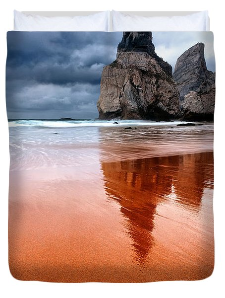 The Needle Duvet Cover by Evgeni Dinev